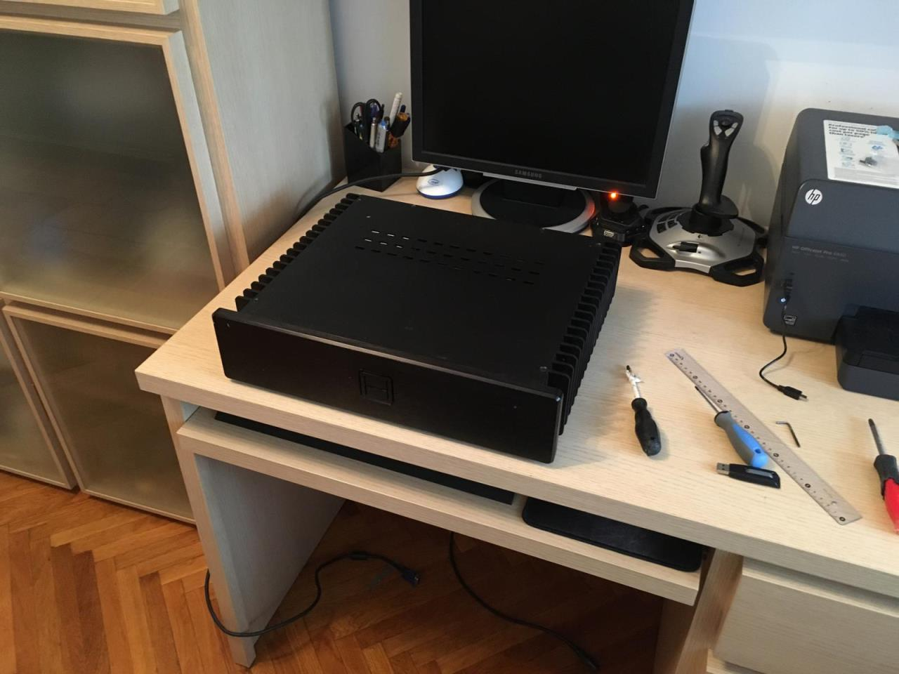 HDPLEX Fanless Computer Case