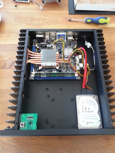 HDPLEX fanless computer case H3.S