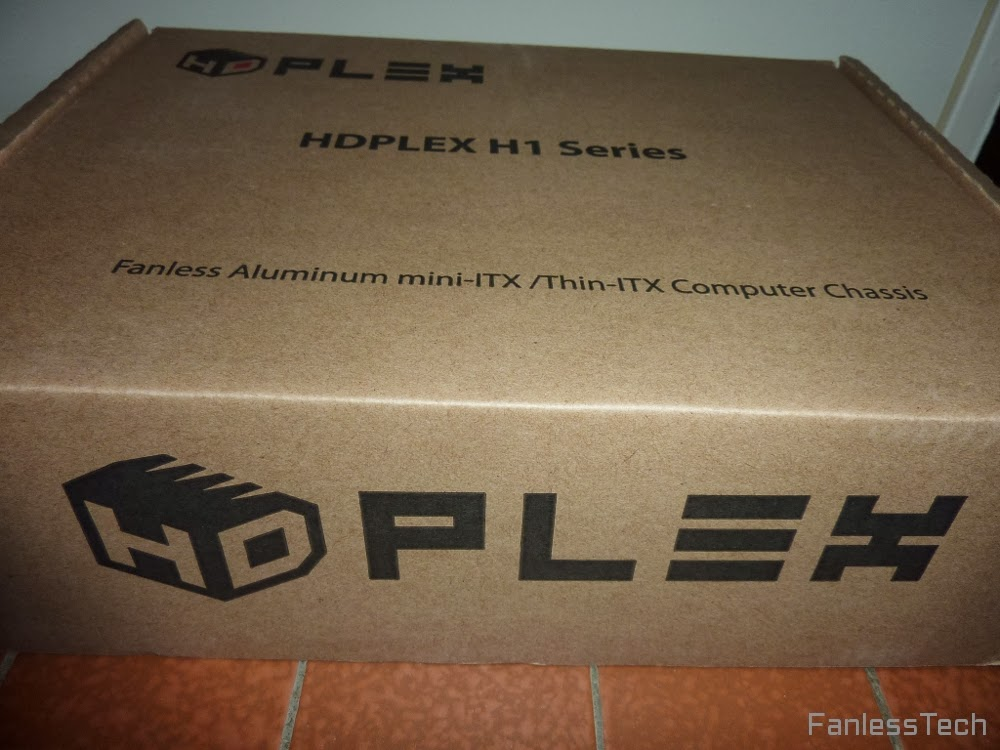 HDPLEX Fanless H1.S chassis unboxing from fanlesstech.com