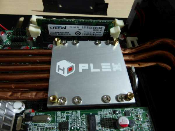 HDPLEX H1.S with mobile Intel processor PGA988 socket