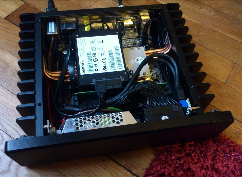 H1.S fanless PC case with ASRock H81M-ITX