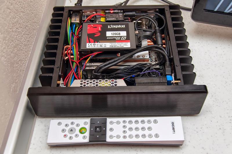 H1.S fanless pc with intel core i3 4310 ASRock B85N ITX Internal IR MCE