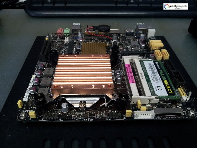 HiXPower BMS Control Unit-Fanless Server HDPLEX H1.S fanless Case from Cool Project Italy