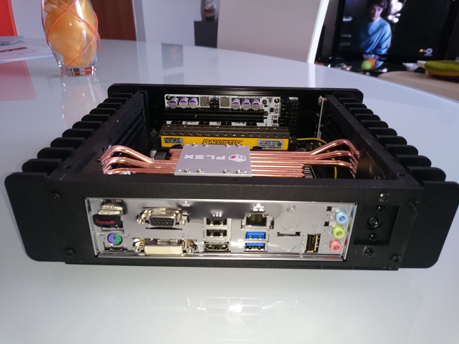 HDPLEX 100W linear power supply Italy Videohifi Forum
