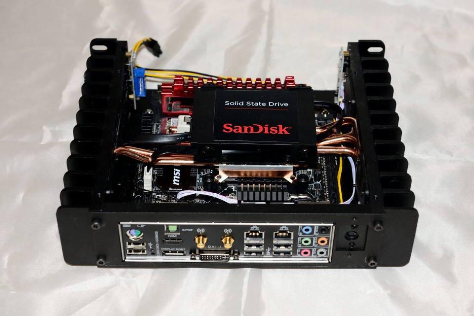 A great HTPC case HDPLEX H1.S fanless pc case review
