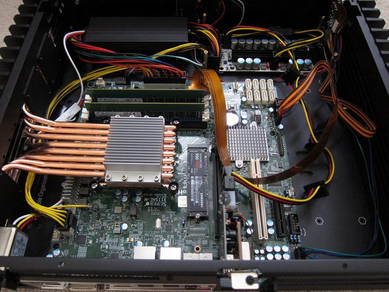 HDPLEX 2nd Gen H5 with Supermicro,Xeon,NVMe PCIe,PPA USB