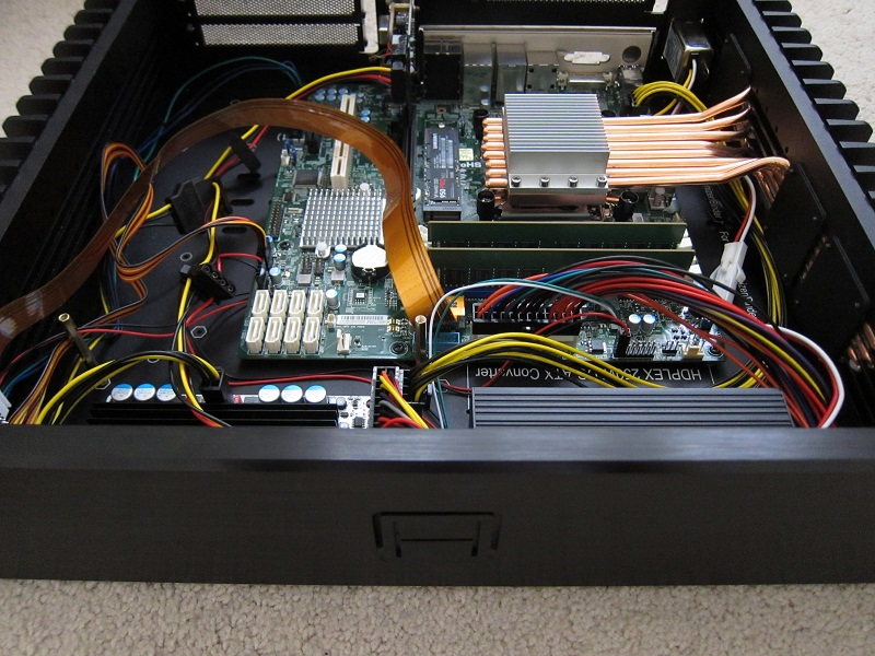 HDPLEX 2nd Gen H5 with Supermicro,Xeon,NVMe PCIe,PPA USB