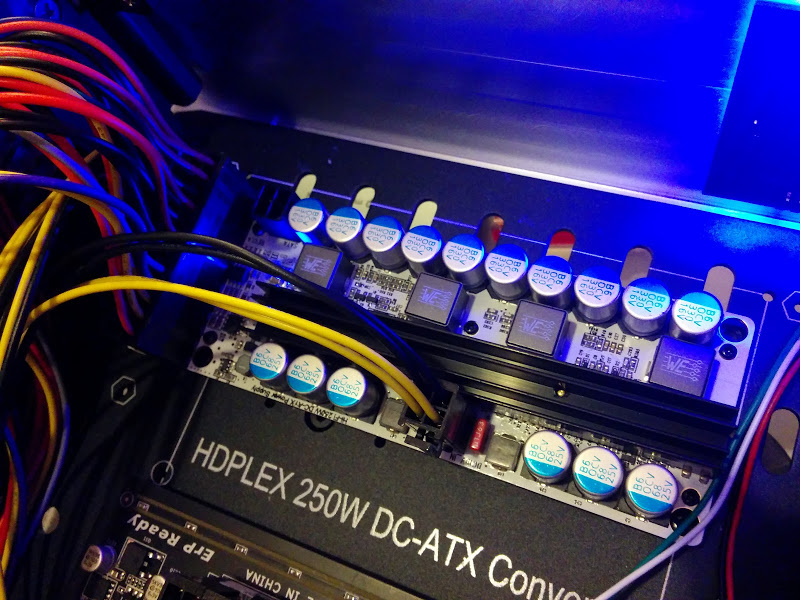 HDPLEX 2nd Gen H5 with 100W Linear Power Supply