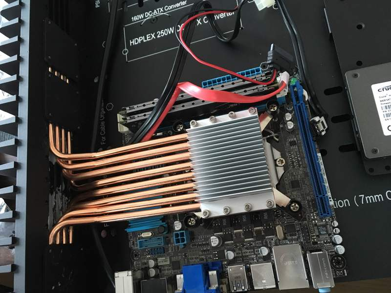 HDPLEX H5 Fanless PC with GTX950 and Intel i7 3770T