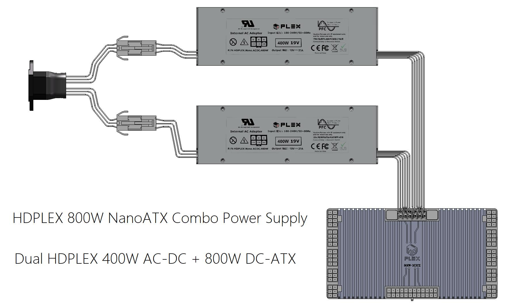 HDPLEX 400W AC-DC on
