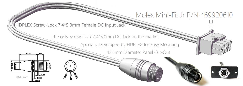 HDPLEX 400W Hi-Fi DC-ATX Converter